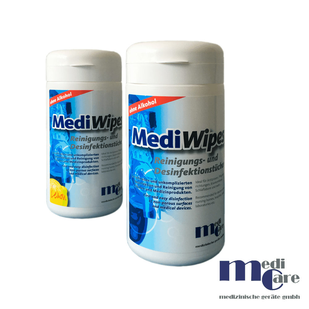 MediWipes Reinigungs- / Desinfektionstücher